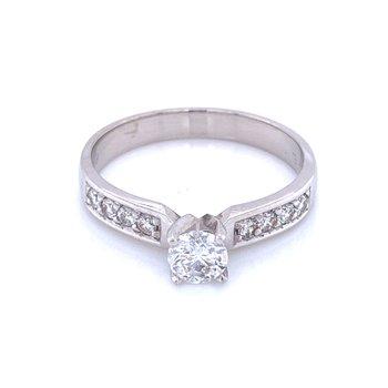 Classic Elegance Engagement Ring