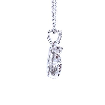 Love's Crossing Diamond Pendant-1/4ctw