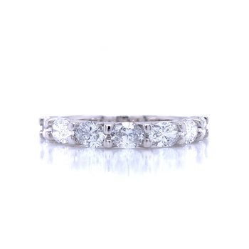7 Diamond Oval Band 1 1/2ctw