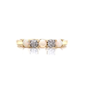 Stackable Opal Band