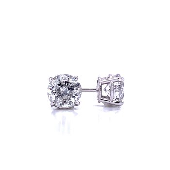 Diamond Stud Earrings 2ctw