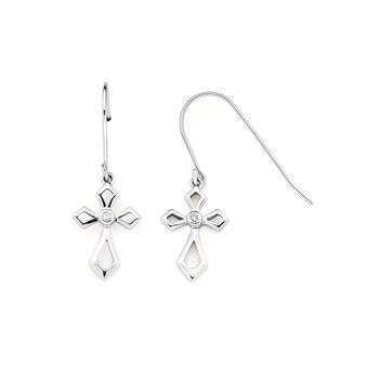 Sterling Silver Cross Dangles
