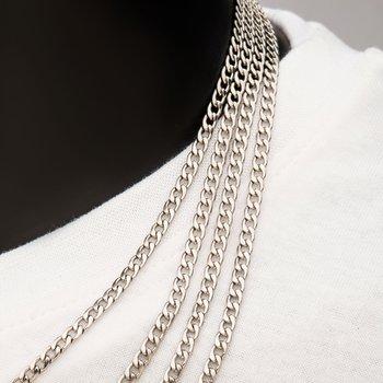6mm Steel Classic Curb Chain