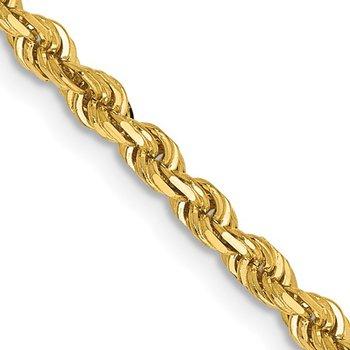 Diamond Cut Quadruple Rope Bracelet