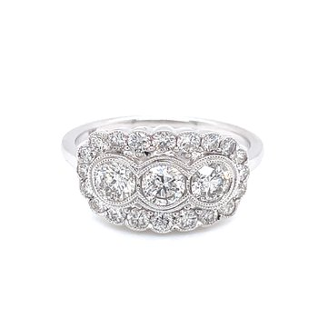 Diamond Princess Ring