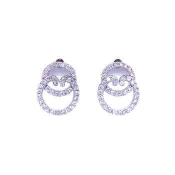 Circles of Sparkle Earrings