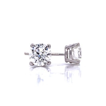 2ctw Lab Grown Diamond Studs
