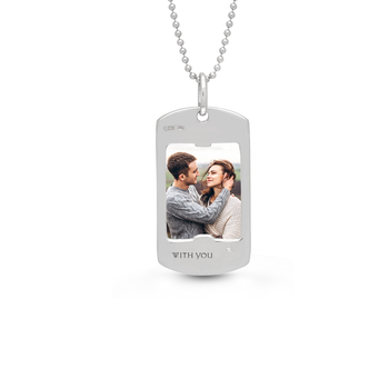 Henry Dog Tag Necklace