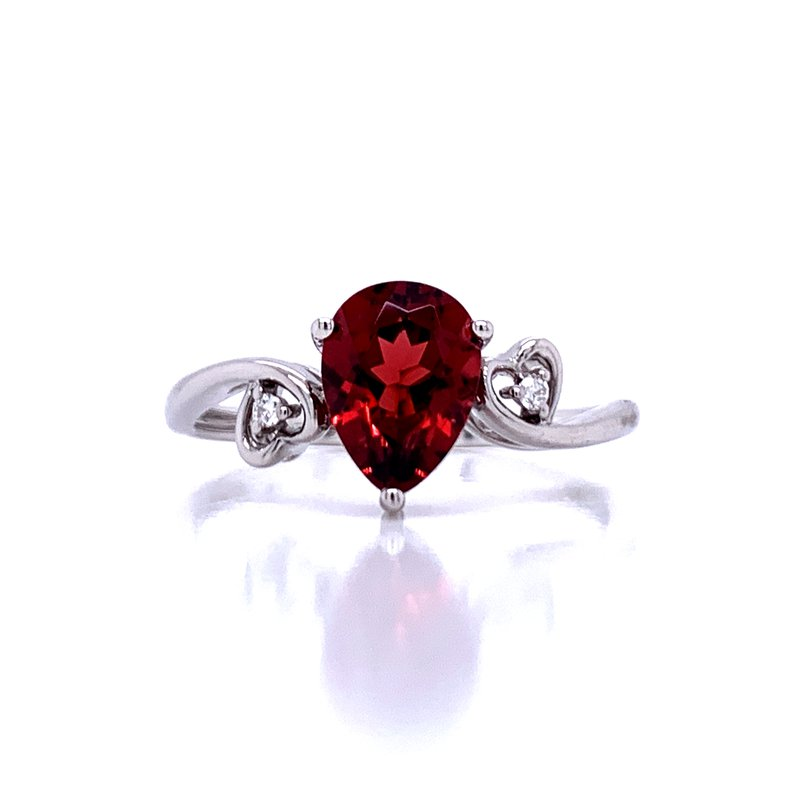 Bryan Beauties Sweet Simplicity Garnet Ring