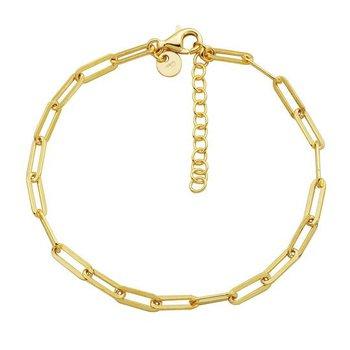 3mm Paperclip Bracelet