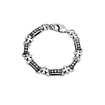 Men's Cross Link Bracelet
