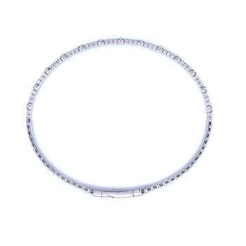 Sexy Slender Stackable Bangle Bracelet-14kw