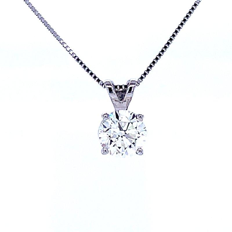 Bryan Beauties Solitaire Diamond Pendant 3/4ct