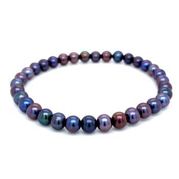 Irradiated Pearl Bracelet