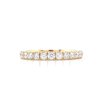 Prestigious Diamond Band-14ky-1/2ctw