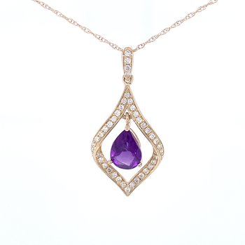 Amethyst Pearfection Pendant