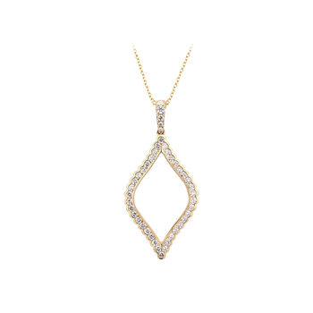 Cat Eye Diamond Pendant