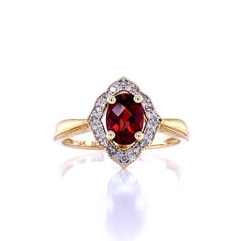 Glorious Garnet Ring