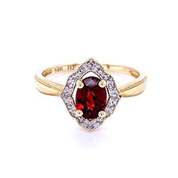 Glorious Garnet Ring