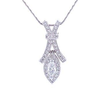 Eye Catching Diamond Pendant
