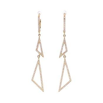 Angle Dangle Earrings