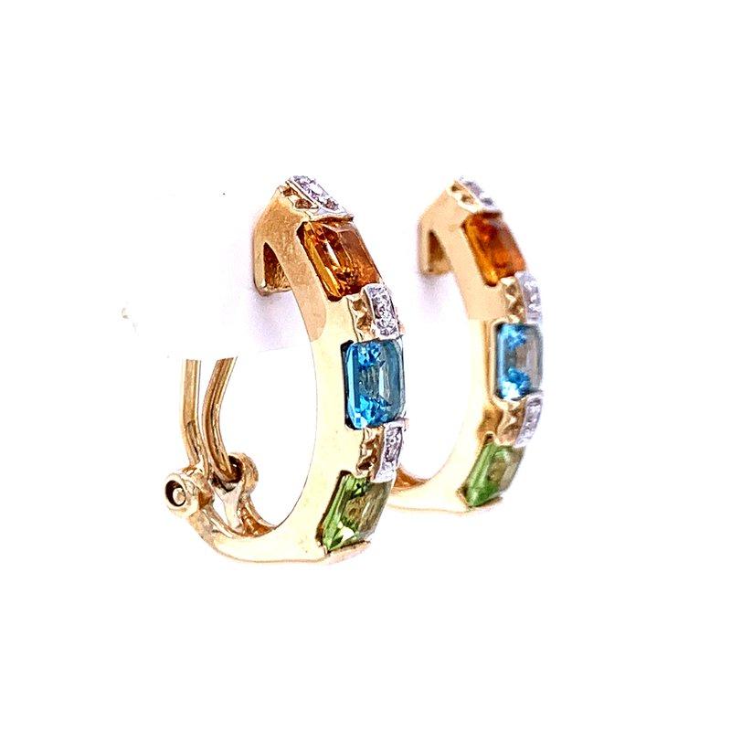 Bryan Beauties Colorful Earrings
