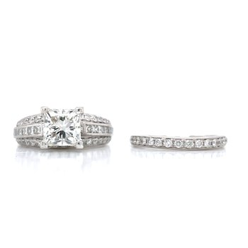 Neil Lane Wedding set - est 3 1/4ctw