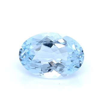 5.11 Carat Oval Aquamarine Gemstone