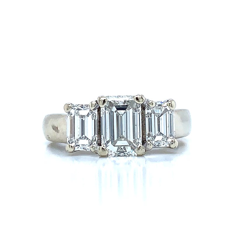 Previously Loved Emerald Cut Excellence