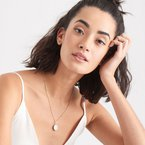Ania Haie Mother Of Pearl T-bar Necklace