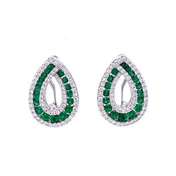 Emerald Pizzazz Earrings