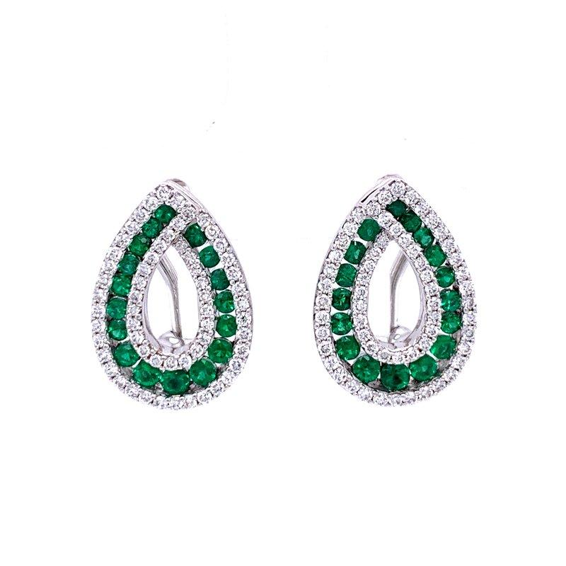 Bryan Beauties Emerald Pizzazz Earrings