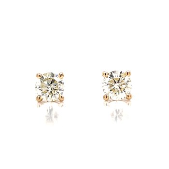 1/2ctw Diamond Studs-14ky