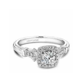 Round Brilliant Bridal Ring