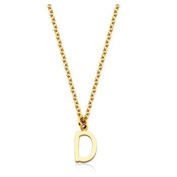 """""""D"""" Necklace"""
