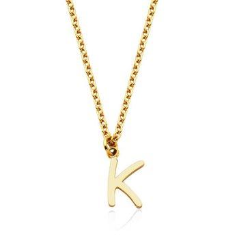 """""""K"""" Necklace"""