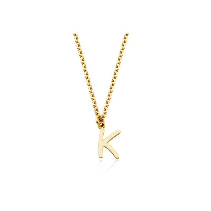 """STEELX """"K"""" Necklace"""