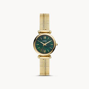 Ladies Gold/Green Metal WATCH