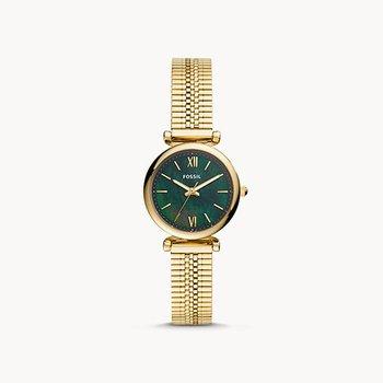 Ladies Gold/Green Metal WATCH