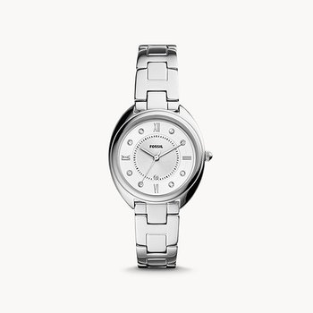 Gabby Three-Hand Date Stainless Steel Watch