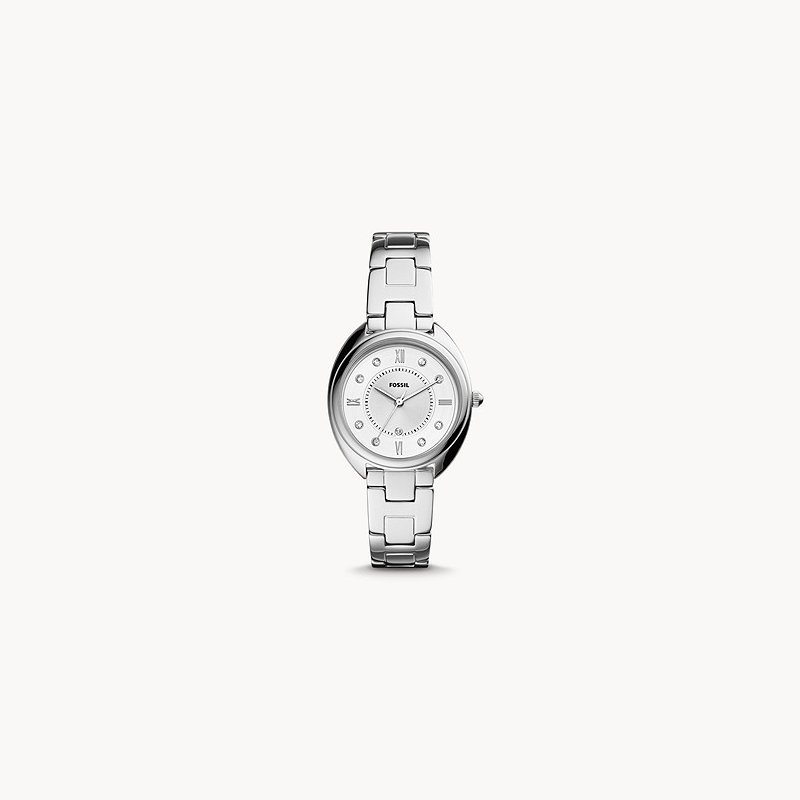 Fossil Gabby Three-Hand Date Stainless Steel Watch