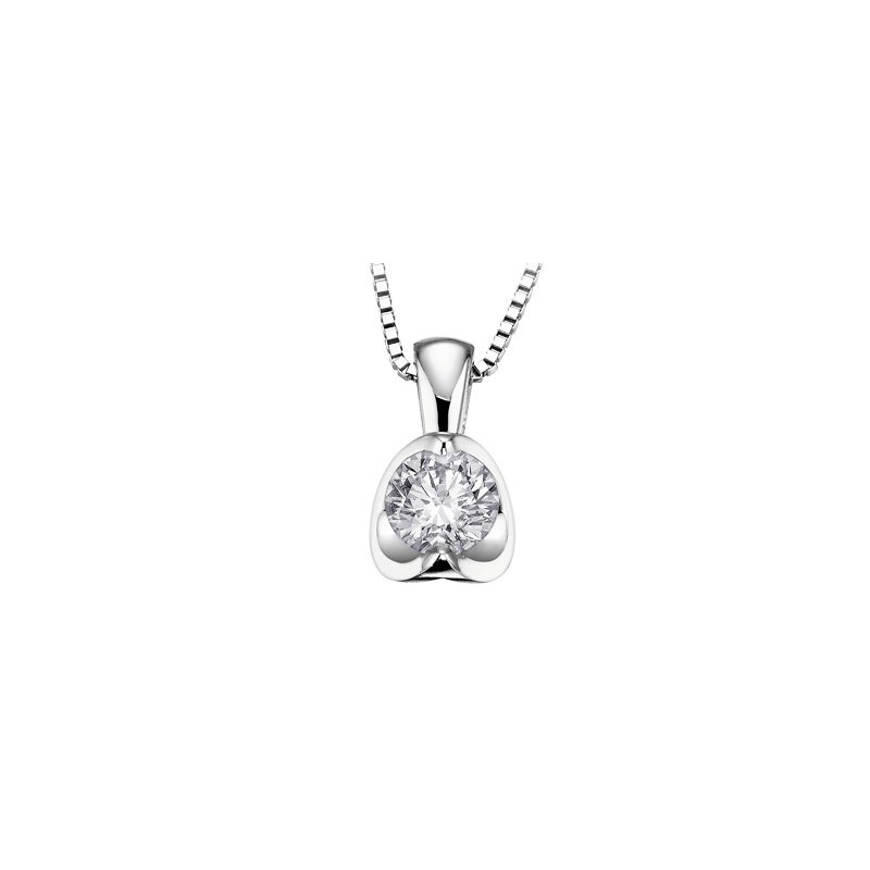 D of D Signature Diamond solitare pendant