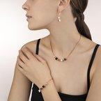 Coeur De Lion Bracelet GeoCUBE® & chain black-white