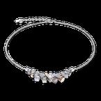 Coeur De Lion Necklace GeoCUBE® cluster silver-rose gold