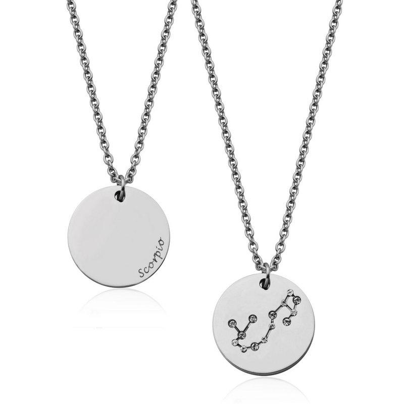 STEELX Constellation Zodiac Pendant-Scorpio