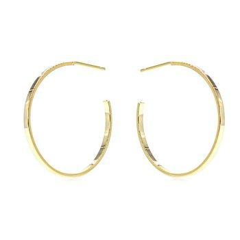 Classic Gold Hoop