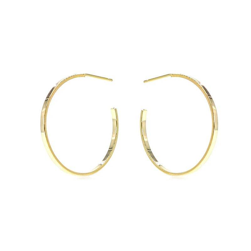 eLiasz and eLLa Classic Gold Hoop