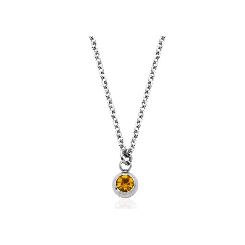 STEELX November Birthstone Necklace