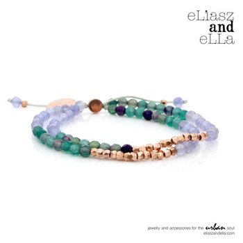 """Equinox"" Mixbead Stone Bangin' Bracelet"