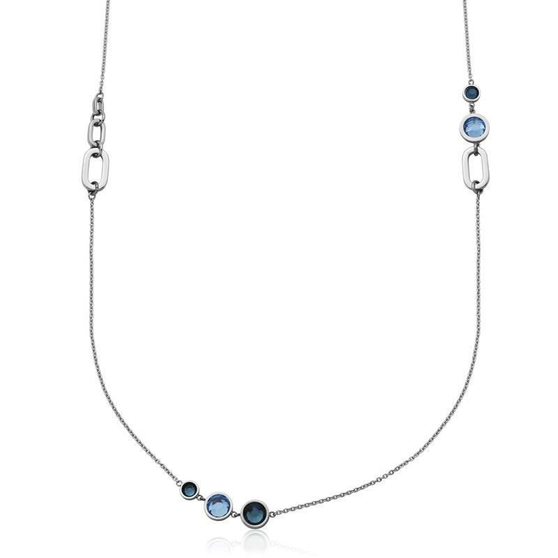 STEELX Blue Stone Necklace